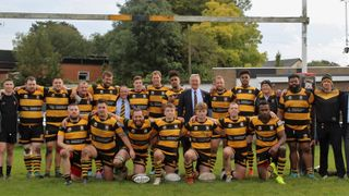STAFFORD 1ST XV vs SILHILLIANS 1ST XV. 12TH OCTOBER 2019. MIDLANDS INTERMEDIATE CUP ROUND 3.