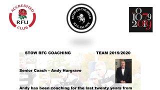 Coaching team 2019/20 season