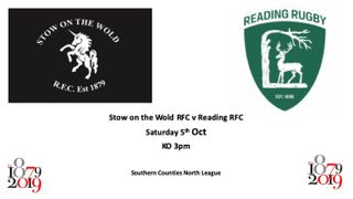 Informal Lunch prior to Stow v Reading match - Sat 5th October