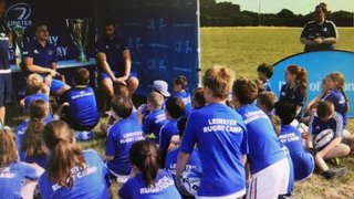 Sun Shines on Port's Leinster Rugby Summer Camp