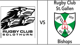 St. Gallen's Bishops take on Rugby Club Solothurn