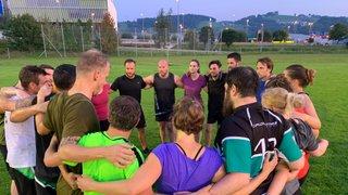 Junge Wirtschaftskammer St.Gallen Rugby Team Event