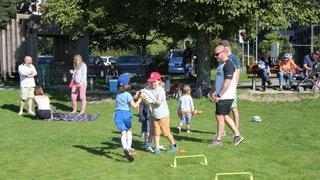 St. Gallen Kids Rugby Gathering Momentum