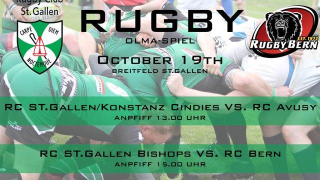 Rugby Club St. Gallen Olma Weekend Double-Header