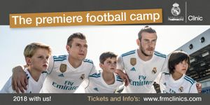 Real Madrid Football Clinic Comes To Radcliffe Borough Juniors This Summer