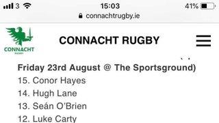 Connacht Eagles v Dragons