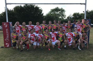 Earlsdon RFC 7s Squad and Plate Champions