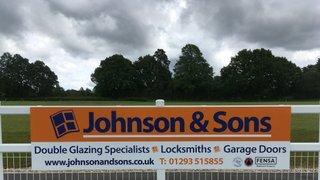 Johnson & Sons sponsor the club