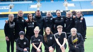 PDA | Nottingham Girls Play On Etihad Stadium