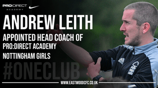 Andrew Leith appointed Head Coach of PDA Nottingham Girls