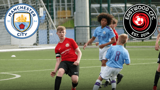 Eastwood CFC Teams Visit Manchester City Training Complex