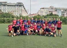 Stade shows great adaptation skills in an International Touch Tournament!