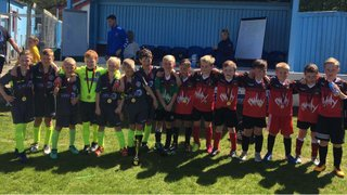 U8's at Colwyn bay tournament