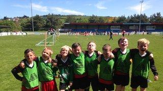 U8's at Colwyn bay tournament
