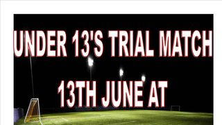 UNDER 13'S HOLD TRIAL GAME SESSION