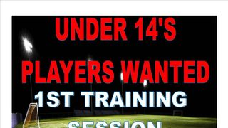 NEW PLAYER INTAKE AT UNDER 14'S