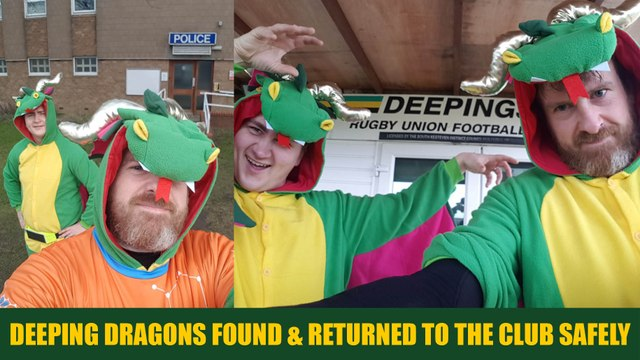 Deeping Dragons Found & Returned To The Club Safely...