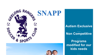 SNAPP - Autistic Specific Sports
