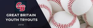 British Baseball Opening Weekend and Team GB Tryouts April 7th and 8th