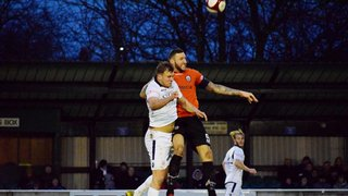 Report: Trafford 1-0 Mossley