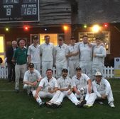 Finchampstead CC Midweek team win Aylward Cup