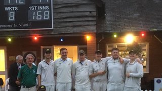 Finchampstead CC Midweek team win Aylward Cup