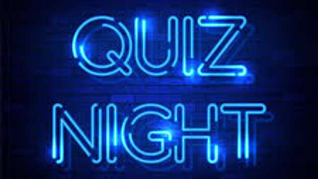 Quiz Night - Sat Feb 8th