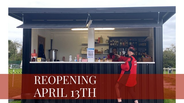 Outside bar reopening from Tuesday 13th April