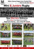 Mini's & Juniors - New Warriors Welcome