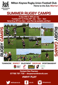SUMMER RUGBY CAMPS!!