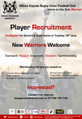Player Recruitment