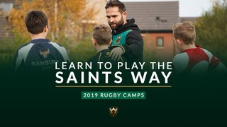 Northampton Saints Rugby Camp