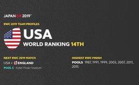 RWC 2019 - ENGLAND V USA