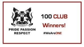 100 Club - April Winners