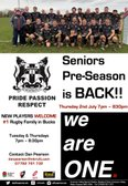 PRE-SEASON Returns!!