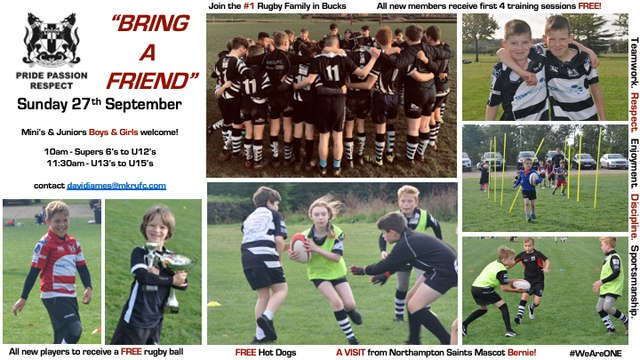 """""""Bring a Friend"""" - Sunday 27th September"""