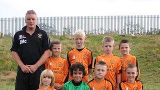 Roach Dynamos Orange Under 8's 2012/13 Season