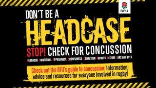 Rugby  - Beware of Head Injuries