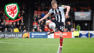 Grimsby Town youth academy graduate Harry Clifton on Wales U21 training camp