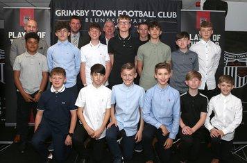 Grimsby Town U13 squad
