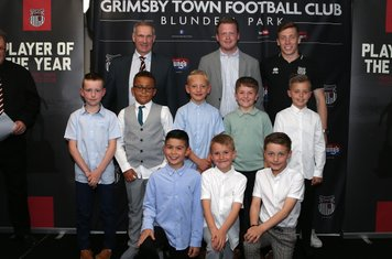Grimsby Town's new U9 squad for 2019-20