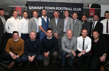 Grimsby Town youth academy coaching staff