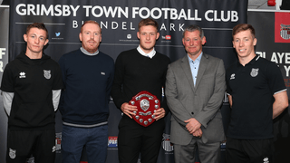 Grimsby Town youth academy Player of the Year awards 2018-19 - gallery