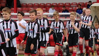 Grimsby Town youth academy v Nottingham Forest at Blundell Park - 05/05/2019