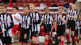 Grimsby Town youth academy v Nottingham Forest at Blundell Park - photo gallery