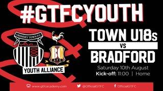 Grimsby Town U18s v Bradford City - match preview