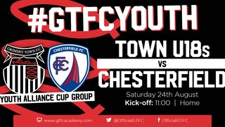 Grimsby Town U18s v Chesterfield - match preview