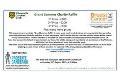 Grand Summer Charity Raffle