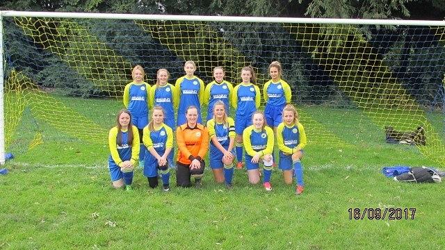 shield winners U16 girls