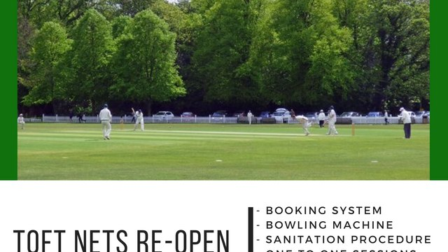 Toft CC Nets Re-opening